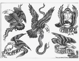 with wings meaning tribal eagle tattoos designs
