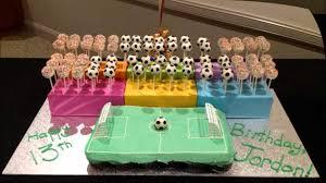 soccer cake ideas cupcake ideas soccer birthday