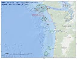 Map Of Washington Coast by 2016 Nautilus Expedition National Marine Sanctuaries