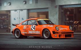 magnus walker porsche 914 stance works the jagermeister porsche 934 at rennsport reunion
