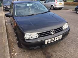 vw golf mk4 03 1 6 petrol manual cheap runner quick sale