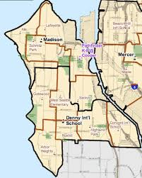 seattle map by district west seattle happening now new seattle schools