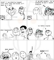 Funny Meme Comic Strips - rage comics dude i accidently bummped into humor pinterest