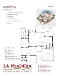 la pradera floor plans