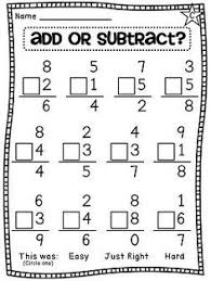 Ist Grade Math Worksheets Freebie Addition And Subtraction Key Word Posters And Key Words