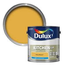 dulux kitchen honey mustard matt emulsion paint 2 5l departments