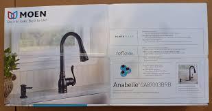 moen ca87003brb mediterranean bronze anabelle single handle