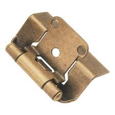 full wrap cabinet hinges face frame hinge antique brass 1 2 overlay p5710f ab belwith