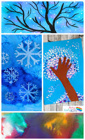 14 wonderful winter art projects for kids arty crafty kids