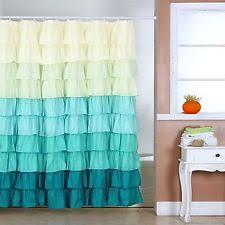 Black Ruffle Shower Curtain Green Ruffle Shower Curtain Shower Curtain Rod