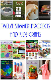 12 summer projects and kid crafts mmm 333 block party keeping