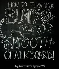 boys room how to turn your bumpy wall into a smooth chalkboard