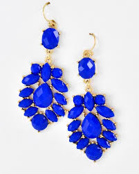 royal blue earrings royal blue dangle earrings unique jewelry and gifts