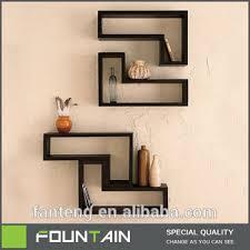 Wooden Shelf Diy by French Melamine Shelf Diy Set 2 Cube Shelf Wall Mounted Wooden