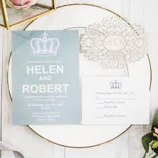 Silver Wedding Invitations Silver Grey Wedding Invitations Online At Elegant Wedding Invites