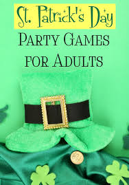 st patrick u0027s day party games for adults