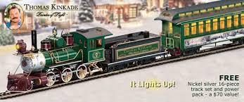 Thomas Train Table Plans Free by Thomas Kinkade Christmas Train And Accessories
