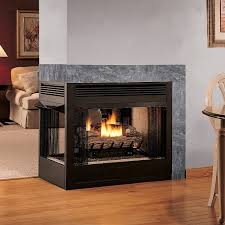 ventless gas fireplace logs interior design