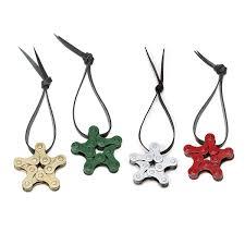 holiday bike chain star ornaments recycled ornament bike