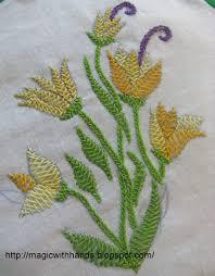 Fish Bone Stitch Embroidery Tutorials Welcome To Savitha39s Home Tast Week 5 Herring Bone Stitch