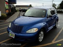 2004 chrysler pt cruiser touring in electric blue pearlcoat