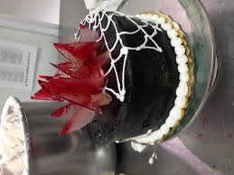 broken glass cake halloween blood spiderweb cake publix cakes