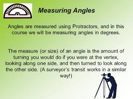 and introduction to measuring angles ppt video online download