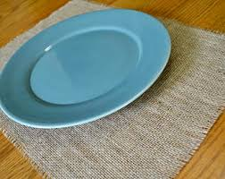 Shabby Chic Placemats by Burlap Placemats Etsy
