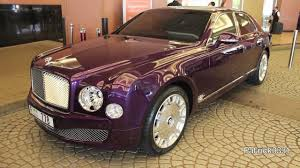 Stunning Purple Bentley Mulsanne Youtube