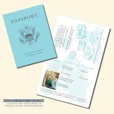 travel theme passport invitation travel theme invitation personalized