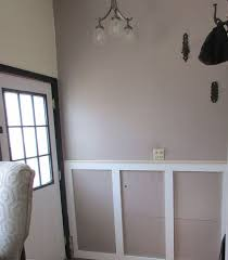 Contemporary Wainscoting Panels Adding Industrial Modern Wainscoting For A High Traffic Entryway