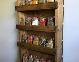 Wall Spice Racks For Kitchen Spice Rack Rustic Kitchen Spices Wall Spice Rack Kitchen