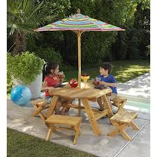 kids outdoor picnic table kids outdoor furniture table and chairs outdoor goods kids patio