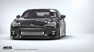 subaru brz front bumper ml24 automotive design prototyping and body kits