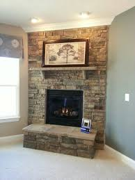 Fireplace With Music by Stacked Stone Fireplace With Granite Hearth Home Design