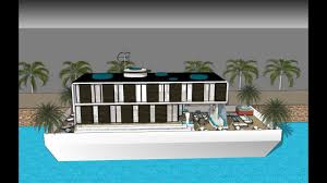 modern luxurious houseboat amsterdam modern houseboat plans