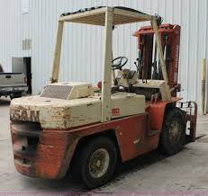 nissan 80 forklift item h5755 sold july 29 vehicles and