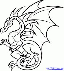 how to draw a dragon for kids 8 how to draw a flying dragon for
