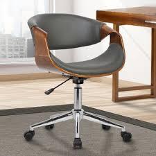 mid century modern desk chair mid century office chair wayfair
