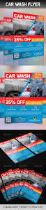 car wash flyer cleaning companies ai illustrator and font logo