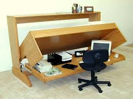 Wooden Folding Bed Furniture Creative Wooden Folding Bed That Integrated With Home