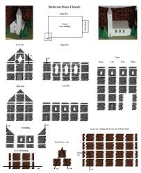 Medieval Manor House Floor Plan by Plan Sheets