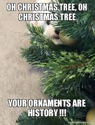oh tree oh tree your ornaments are history