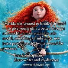 feminist interpretation princess movie brave popular culture