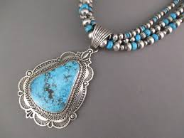 turquoise necklace images Ithaca turquoise pendant necklace by albert jake navajo jewelry jpg