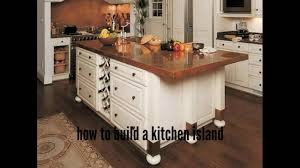 how to build a kitchen island ideas for kitchen youtube