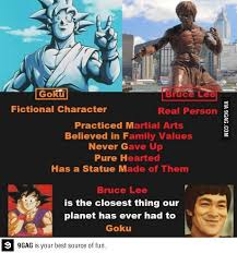 Bruce Lee Meme - goku vs bruce lee meme by kayleb 17 memedroid