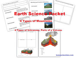 earth science activities earthquakes plate movement and mountain
