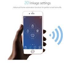 home automation logo design nice design wifi 3g sms self defense gsm alarm system home