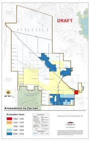 Arizona City Map by Annexation Basics Official Website Surprise Arizona